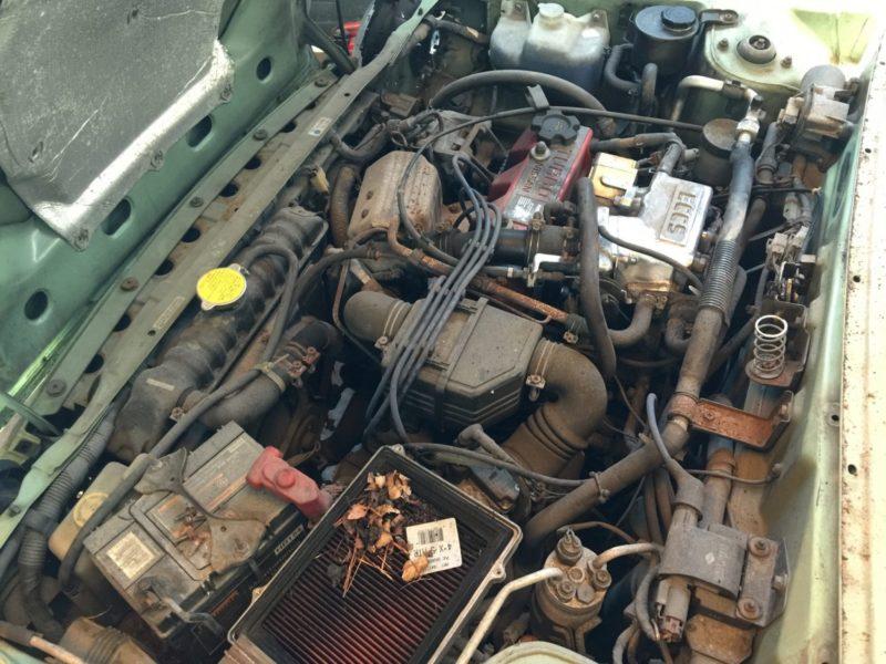 Nissan Figaro - Engine dirty